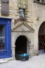 Maison - Français:   Maison du XVIIe siècle, 12 rue des Consuls à Sarlat-la-Canéda.