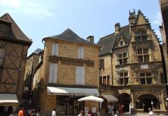 Maison - English: Sarlat-la-Canéda, Dordogne, FRANCE