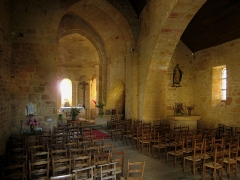Eglise Saint-Cybard - English:   Church of the village of Tamniès, located in the Département of Dordogne/France - interior