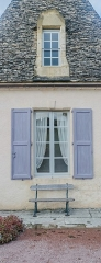 Château de Marqueyssac - English: Windows of the castle of Marqueyssac, commune of Vézac, Dordogne, France