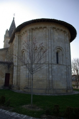 Eglise Saint-Pierre - English: Church of Saint Peter in Avensan (Gironde, France). Apse. National Heritage Site of France.