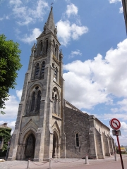 Eglise Saint-Pierre - English: Bassens (Gironde) église Saint-Pierre, tour PA00083126