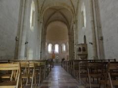 Eglise Notre-Dame - English: Bayon-sur-Gironde, Église Notre-Dame, intérieur