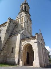 Eglise Notre-Dame - English: Bayon-sur-Gironde, Église Notre-Dame, extérieur