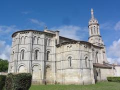 Eglise Notre-Dame - English: Bayon-sur-Gironde, Église Notre-Dame, chevet