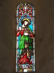 Eglise Notre-Dame - English: Bayon-sur-Gironde, Église Notre-Dame, vitrail 04