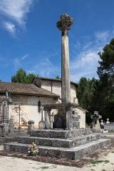 Croix de cimetière - Français:   Croix de cimetière (Inscrit)