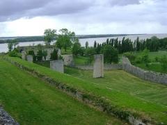 Citadelle de Blaye - Français:   Citadelle de Blaye, Gironde. Vestiges au Nord de la Citadelle.