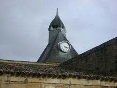 Citadelle de Blaye - Français:   Citadelle de Blaye, Gironde. Le clocher de la Porte Dauphine.