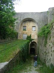 Citadelle de Blaye - Français:   Citadelle de Blaye, Gironde. Hôpital de siège (partie basse) et Théâtre du mascaret (partie haute)