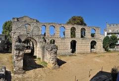 Restes de l'amphithéatre dit Palais Gallien - Français:   Bordeaux (France): le Palais Gallien