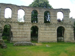 Restes de l'amphithéatre dit Palais Gallien - Français:   Le Palais Gallien à Bordeaux.