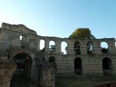 Restes de l'amphithéatre dit Palais Gallien - English: Palais Gallien is a Roman amphitheater in Bordeaux, France.