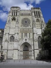 Cathédrale Saint-André - Cathédrale Saint-André à Bordeaux (Gironde, France).