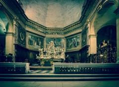 Eglise Saint-Dominique ou Notre-Dame -  Chœur de l\'église Notre-Dame de Bordeaux (33).