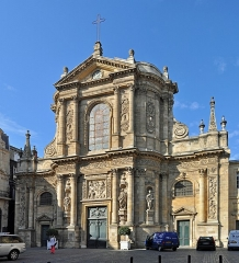 Eglise Saint-Dominique ou Notre-Dame - Français:   Bordeaux (France): l\'église Notre-Dame
