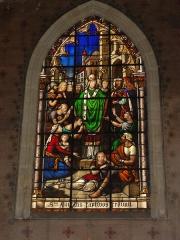 Eglise Saint-Eloi - English: Église Saint-Éloi de Bordeaux, vitrail St.Eloi