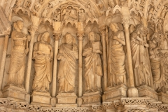 Eglise Saint-Seurin - English:  Bordeaux, Aquitaine, Gironde, France;; ref PM_094280_F_Bordeaux;; Photographer: Paul M.R. Maeyaert; www.pmrmaeyaert.eu; © Paul M.R. Maeyaert; pmrmaeyaert@gmail.com; Cultural heritage; Cultural heritage/Sculpture; Europeana; Europe/France/Bordeaux;