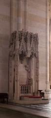 Eglise Saint-Seurin - English:  Bordeaux, Aquitaine, Gironde, France;; ref PM_094264_F_Bordeaux;; Photographer: Paul M.R. Maeyaert; www.pmrmaeyaert.eu; © Paul M.R. Maeyaert; pmrmaeyaert@gmail.com; Cultural heritage; Europeana; Europe/France/Bordeaux;