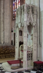Eglise Saint-Seurin - English:  Bordeaux, Aquitaine, Gironde, France;; ref PM_094268_F_Bordeaux;; Photographer: Paul M.R. Maeyaert; www.pmrmaeyaert.eu; © Paul M.R. Maeyaert; pmrmaeyaert@gmail.com; Cultural heritage; Europeana; Europe/France/Bordeaux;