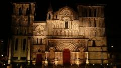 Eglise Sainte-Croix -  Façade occidentale de l'église Sainte-Croix de Bordeaux (33).