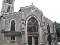 Eglise Sainte-Eulalie -  Vue d'ensemble de l'église Sainte-Eulalie à Bordeaux