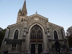 Eglise Sainte-Eulalie - This building is en partie classé, en partie inscrit au titre des monuments historiques de la France. It is indexed in the base Mérimée, a database of architectural heritage maintained by the French Ministry of Culture,under the reference PA00083178 .