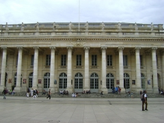 Grand théâtre - Le Grand Théâtre de Bordeaux.