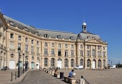 Hôtel de la Bourse - Français:   Bordeaux (France): Hôtel de la Bourse