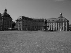 Hôtel de la Bourse - L'hôtel de la Bourse à Bordeaux, en Gironde