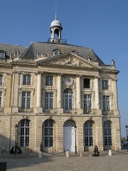 Hôtel des Douanes -  Photo of mansion in Bordeaux, France, at 19 place de la Bourse.