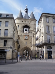 Ancien Hôtel de ville - English: La Grosse Cloche Porta de Bordeaux