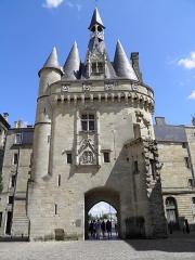 Porte du Palais (ou Porte Cailhau) - Porte Cailhau à Bordeaux (Gironde, France).