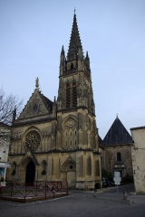 Eglise Saint-Martin - English: Saint-Martin church in Cadillac (Gironde, France). National Heritage Site of France.