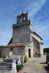 Eglise Saint-Saturnin - Français:   Église Saint-Saturnin de Camarsac,  (Inscrit, 1925)