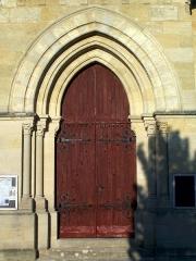 Eglise Saint-Martin - Français:   Église Saint-Martin de Castres-Gironde (Gironde, France)