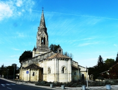 Eglise Saint-Martin - Français:   L\'église Saint-Martin, Izon, Gironde, France