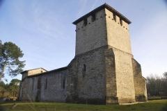 Eglise du Vieux Lugo - Église Saint-Pierre de Mons (Belin-Béliet)