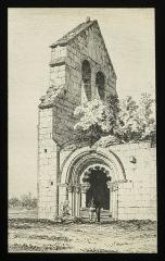 Ruines de la chapelle de Villemartin -