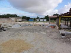 Parcelles cadastrales contenant les vestiges d'une villa romaine - English: Plassac (Gironde) fouilles villa gallo-romaine