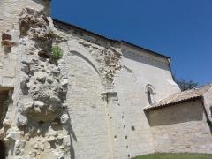 Eglise Sainte-Madeleine - English: Pleine-Selve (Gironde) Église Sainte-Madeleine 01