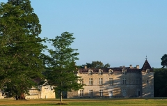 Château de Cazeneuve - This building is indexed in the Base Mérimée, a database of architectural heritage maintained by the French Ministry of Culture,under the reference PA00083676 .