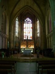 Eglise collégiale Saint-Emilion - Français:   Eglise collégiale Saint-Emilion, Gironde Le choeur de l\'Eglise.