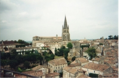 Eglise souterraine monolithe (ancienne église paroissiale Saint-Emilion) - Français:   Vue Générale