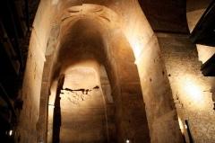 Eglise souterraine monolithe (ancienne église paroissiale Saint-Emilion) - Français:   Église monolithe de Saint-Émilion (Classé)
