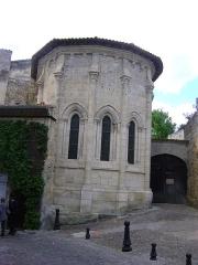 Ermitage ou Chapelle de la Trinité - Français:   Chapelle de la Trinité à Saint-Emilion, Gironde. L\'abside.