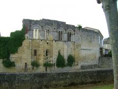 Ancien Palais des Archevêques ou Palais Cardinal - Français:   Ancien Palais des Archevêques ou Palais Cardinal de Saint-Emilion, Gironde.