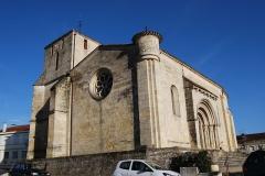 Eglise Saint-Romain - Français:   Église Saint-Romain de Targon,  (Inscrit, 1925)