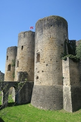 Ruines du château - This building is indexed in the Base Mérimée, a database of architectural heritage maintained by the French Ministry of Culture, under the reference PA00083861 .