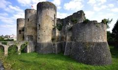 Ruines du château - Château de Villandraut